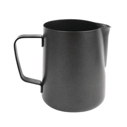 Black Teflon Coated Milk Jug 0.6ltr